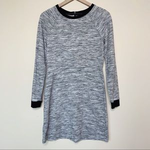 Lou & Grey Long Sleeve Space Dye Dress Size S